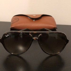 Ray Ban Cats 5000 Classic In Brown